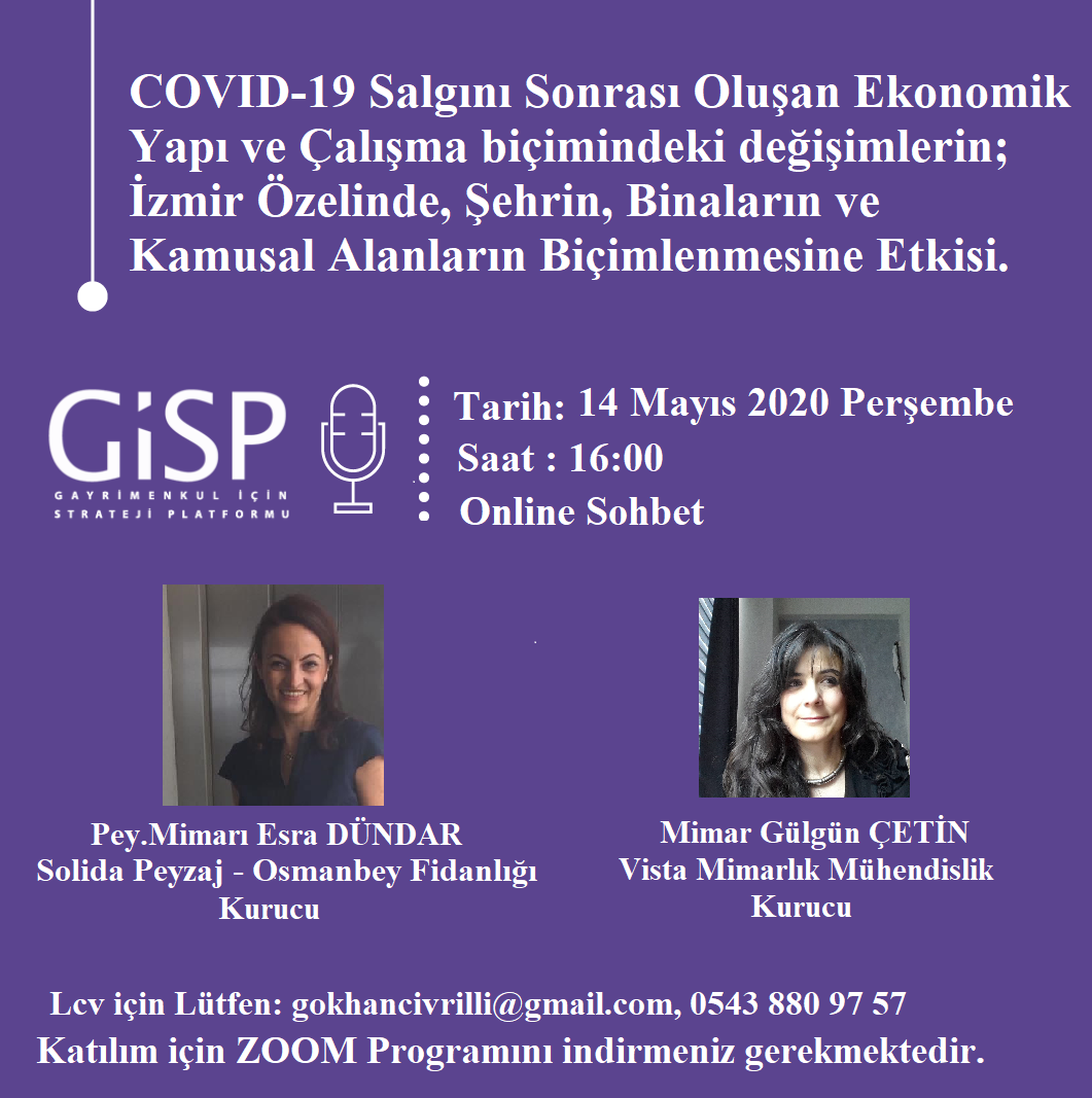 Covid-19 Sonrası Oluşan Ekonomik Yapı : İzmir Özelinde Şehrin, Binaların ve Kamusal Alanların Biçimlenmesine Etkisi