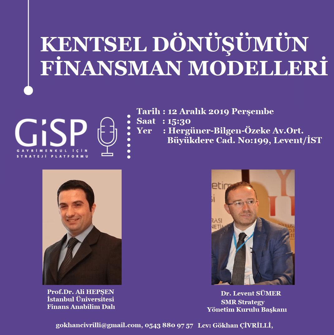 Kentsel Dönüşümün Finansman Modelleri